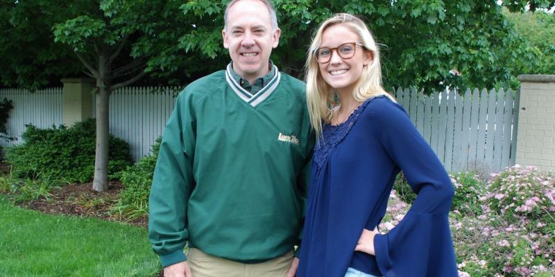 Lawn Tech Scholarship winner Elizabeth Blankley
